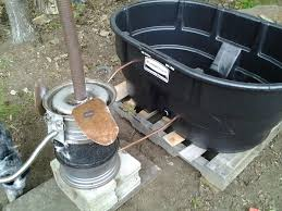 introduction homesteader wood fired hot tub