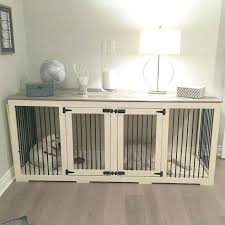 designer dog crate furniture ruffhaus luxury wooden. Kennel Furniture Dog Crates That Look Like 6 The First Beautiful Decorative Indoor Wooden . Double Designer Crate Ruffhaus Luxury