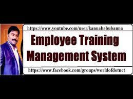 Employee Training Management Employee Training Management System