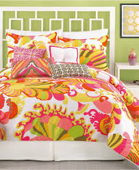 bright inspiration trina turk comforter set brighten up the bedroom with this lovely ikat