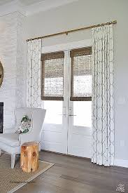 Curtain For Window On Door Inspirational Best 25 French Door Curtains Ideas  On Pinterest