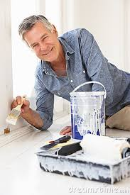 Man Decorating Man Decorating House House And Home Design