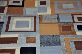 area rug blue and brown