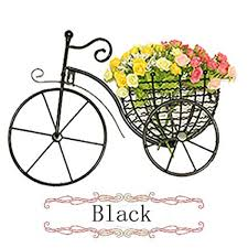 bicycle wall decor metal wall hanging decals art sculpture with 2 flowers black  on metal bike with basket wall decor with amazon bicycle wall decor metal wall hanging decals art