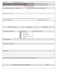 Incident Response Form Page 2 Report It Template Itil Format Major