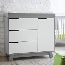 babyletto hudson dresser greywhite  ebay