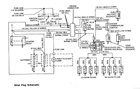 engine and jet drive glow plug wiring diagram