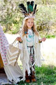 no sew diy sacagawea indian costume by kara allen kara s party ideas karaspartyideas