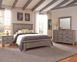 Plank Bedroom Furniture Gramercy Park Weathered Gray Plank Panel Furniture For Less