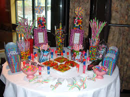 round table candy buffet choice image table decoration ideas
