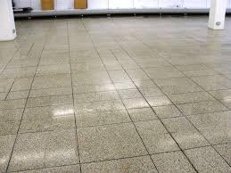 terrazzo floor tile cleaning