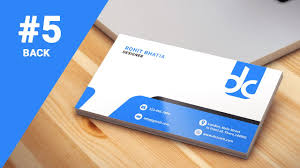 5 How To Design Business Cards In Photoshop Cs6 Professional