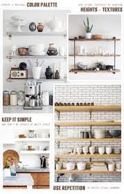 Open Kitchen 17 Best Ideas About Open Kitchen Shelving On Pinterest Kitchen