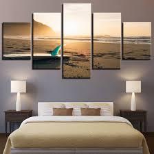smartness surf wall art decoration ideas decor canvas beach stickers uk artemide surfboard