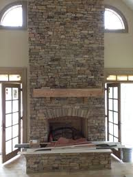 outdoor stacked stone fireplace inspirational veneer home ideas