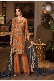 Unique Dress Design Pakistani Maryams Premium Vol 2 Pakistani Suits Collection Mp 119 In