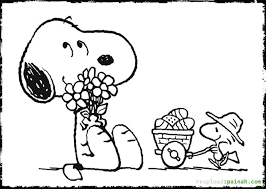 Small Picture and snoopy coloring pages