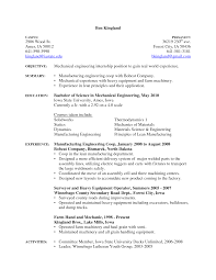 Cosy Industrial Mechanic Resume Templates About Auto Mechanic Resume