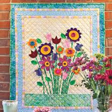 for Mom: Dimensional Applique Quilted Wall Hanging Pattern & Bouquet for Mom: Dimensional Applique Quilted Wall Hanging Pattern Adamdwight.com