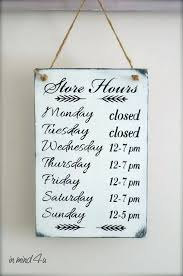 printable store hours sign business hours sign printable template hours of operation etsy nzu us