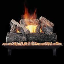 How To Light A Gas Fireplace Amazon Com Rasmussen 18 Inch Lone Star See Thru Gas Log Set