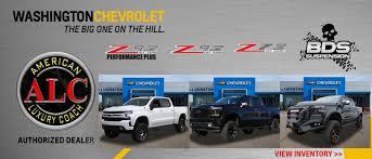 Washington Chevrolet Pittsburgh Chevrolet Dealer