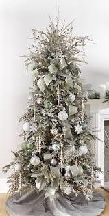 2017 Gold & Silver Christmas Tree Inspiration