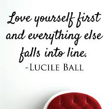 Quotes Love Yourself First Best Of Love Yourself First Wall Quotes™ Decal WallQuotes
