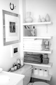black and white bathroom furniture. White Bathroom Shelving Fresh In Unique Interesting Storage Design With Floating Shelves Black And Furniture