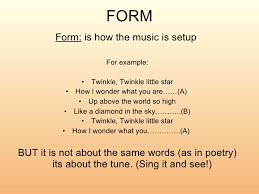 There are generally considered to be 7 basic elements of music: Elements Of Music