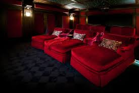 home theater seating chaise
