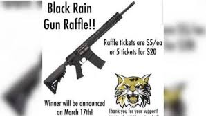 things to raffle off at a fundraiser missouri kids selling raffle tickets for an ar 15 for baseball