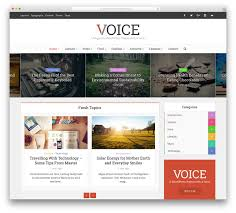 top news magazine wordpress themes colorlib voice bright wordpress magazine website template
