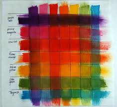Fw Inks Colour Chart Fw Daler Rowney Ink Swatches Full Strength Left To Right