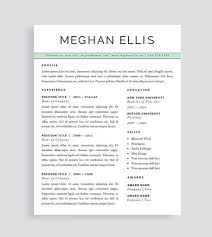 references template free professional cv template cv template for word creative resume
