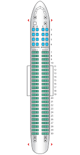 american airlines seating chart 737