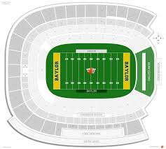 Baylor Basketball Arena Seating Chart Mclane Stadium Baylor Seating Guide Rateyourseats Com