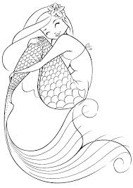 dora mermaid coloring pages little printable my color and friends