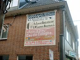 Muurreclame Hoogstraat Wiki Wageningen