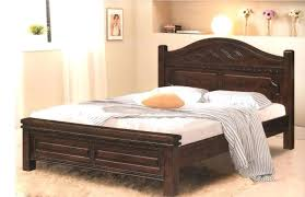 king bed frame wood. Wooden Full Size Beds Bed Wood King Frame Cream Plain White Oak With Drawers R