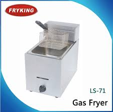 china catering equipments countertop gas deep fryer commercial china fryer natural gas deep fryers
