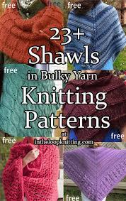 Free Knitting Patterns Bulky Yarn