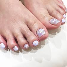 紫陽花フットネイル 表参道青山恵比寿の美容院美容室グループ