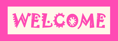 pink welcome pink color welcome banner share on facebook images photos pictures