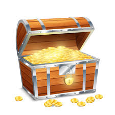 Cofre Con Monedas - Descargar Vectores Gratis, Illustrator Graficos,  Plantillas Diseño