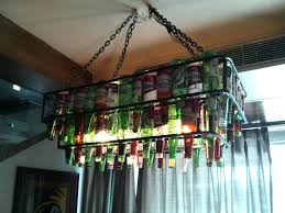 magnificent bottle chandelier kit mesmerizing beer xiiandelhi diy wine