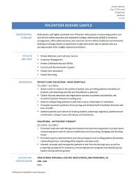 Volunteer Experience Resume Volunteer Experience Resume Example Shalomhouseus 16