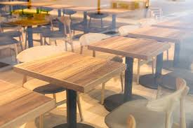 coffee shop outside tables