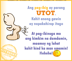 Tagalog Quotes Classy Tagalog Funny Love Quotes And Pinoy Funny Love Sayings Boy Banat