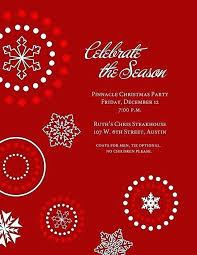 Holiday Dinner Invitation Template Christmas Party Invitation Text Tinajoathome